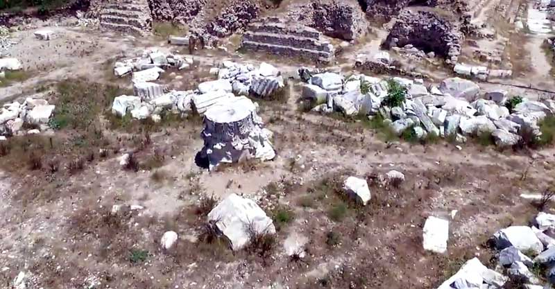 hadrian tapınağı erdek gezilecek yerler