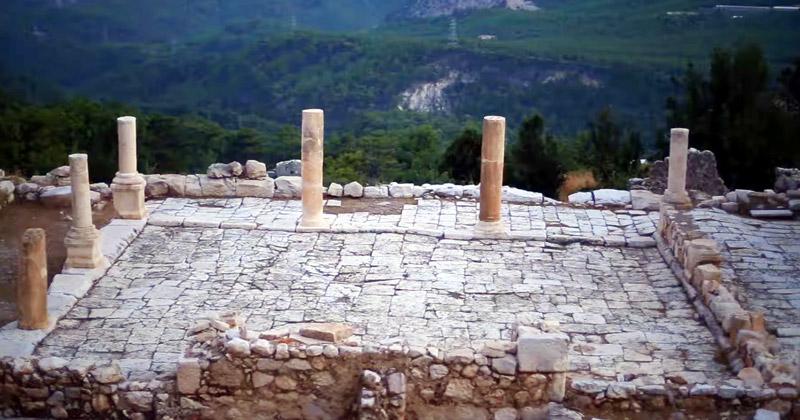 arykanda antik kenit