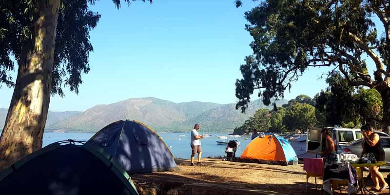 hisarönü ücretsiz kamp alanları