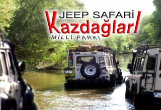 Kazdağları jip safari turları ve fiyatları 2020