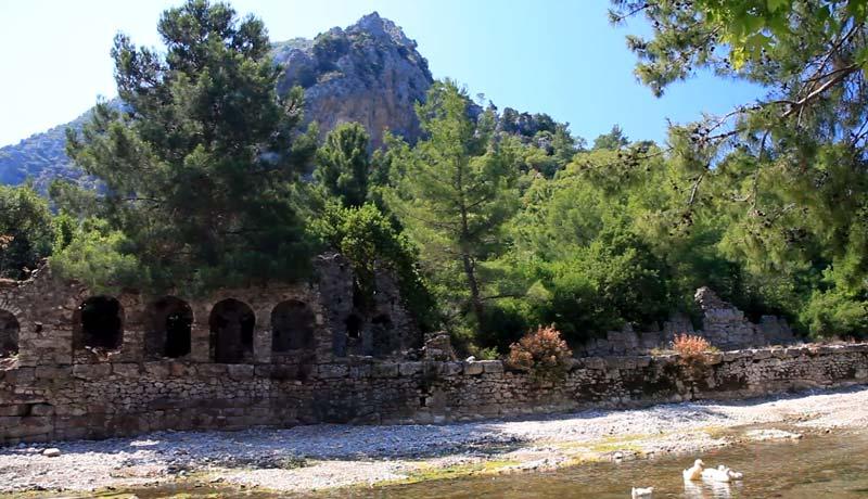 liymra antik kent giriş ücreti finike gezileek yerler