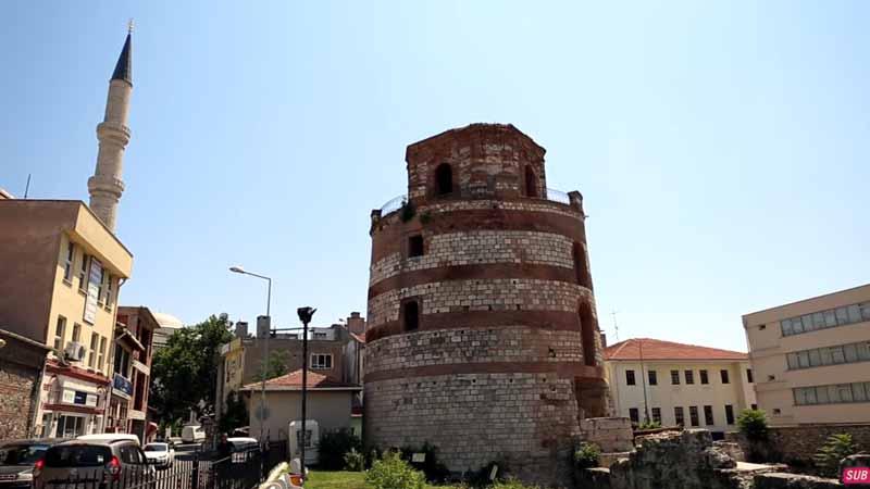 edirne gezilecek yerler makedon kulesi