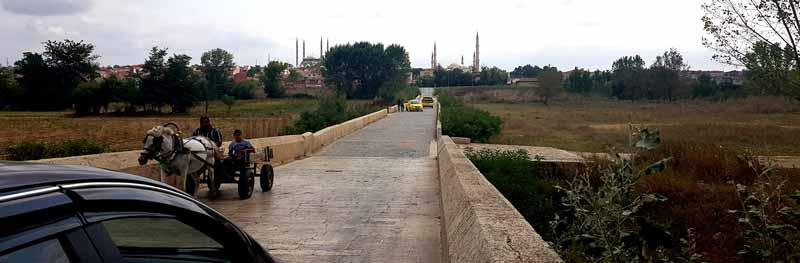 edirne tarihi meriç köprüsü
