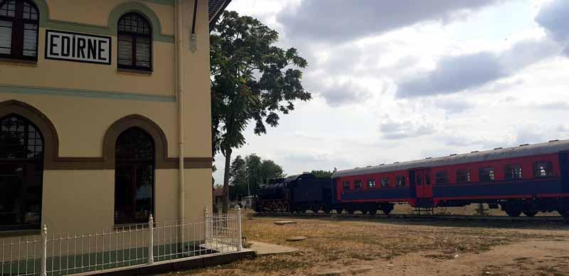 karaağaç tren garı nerede