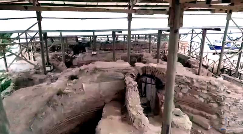 zeytinli ada tarihi kalıntılar